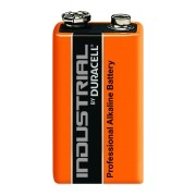 Duracell Industrial Alkaline 9V (MN1604/6LF22) im 10er Pack