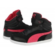 Adidasi ghete copii Puma Glyde court V Kids black-virtual-pink