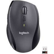 Logitech M705 ratone RF Wireless Laser 1000 dpi Right-Hand Black Ratón (Right-Hand, Laser, RF Wireless, 1000 dpi, 135 g, Black)
