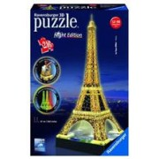 Puzzle 3D Ravensburger Eiffel Tower Building with Light 216 Pieces