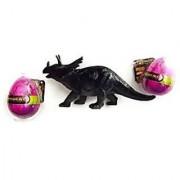 Triceratops Dinosaur Big Egg Bundle Clade-Gravim Growing Hatching Eggs Toy Dino