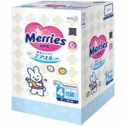 Merries Подгузники для детей L (9-14 кг) 108 шт.