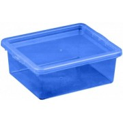 Cutie depozitare cu capac 1.5 l albastru inchis
