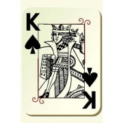 King of Spades: 150 Lined Journal Pages / Diary / Notebook Featuring Playing Card King of Spades on the Cover