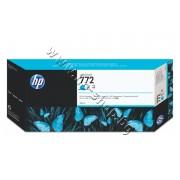 Мастило HP 772, Cyan (300 ml), p/n CN636A - Оригинален HP консуматив - касета с мастило