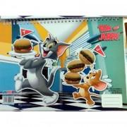 Bloc de desen A4 spiralat Tom si Jerry