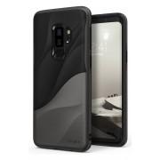 Husa Protectie Spate Ringke Wave Black / Grey pentru Samsung Galaxy S9 Plus