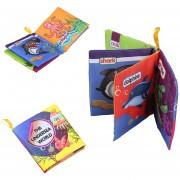 Bebé Inteligencia Desarrollo Paño Tela Conocer Libro Juguetes Educativos De Aprendizaje Temprano