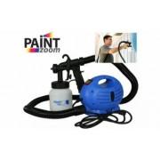 Pistol profesional pentru vopsit si zugravit + compresor 650W Paint Zoom culoare Albastru