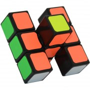 Cubo Magico Rompecabezas Magic Cube 1X3X3 Floppy-Negro