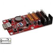 Invento XC2 - Asynchronous - 7 Color LED Display Driver Card - 2x HUB8-2x HUB75