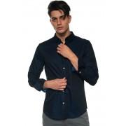 Giorgio Armani Camicia manica lunga Blu Cotone Uomo