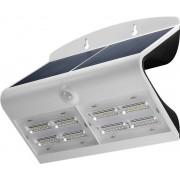 Lampada LED Solare a Muro 6,8W IP65 Sensore di Movimento Bianco