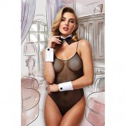 Baci Dreams Collection Bunny body met strik en manchetten