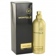 Montale Aoud Ambre by Montale Eau De Parfum Spray (Unisex) 3.4 oz