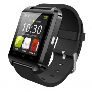 Smartwatch Bluetooth U8, Black