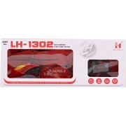 Remote Control Helicopter RC Lh-1302 with 3D Lights and Sound Durable King (RED)