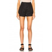 Isabel Marant Etoile Ivy Cotton Linen Shorts in Black. - size 38 (also in 34,36,42)