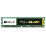 Memorie Corsair ValueSelect 8GB DDR3, 1333MHz, PC3-10600, CL9, CMV8GX3M1A1333C9