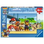 PUZZLE PATRULA CATELUSILOR, 2X24 PIESE - RAVENSBURGER (RVSPC09064)