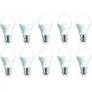 iAura 9W LED Bulb( White Pack of 10)