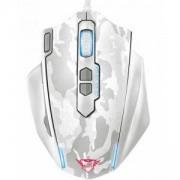 Геймърска мишка TRUST GXT 155W, Бяла, 20852