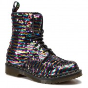 Dr. Martens Glany DR. MARTENS - 1460 Pascal Seqn 24594980 Rainbow Multi/Silver