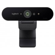 Logitech Brio 4K Stream Edition 4K-webcam 3840 x 2160 pix, 1920 x 1080 pix, 1280 x 720 pix Klemhouder, voor Windows Hello