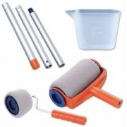 Kit trafalet Paint Runner cu rezervor incorporat maner pliabil role mici pentru colturi si vas pentru vopsea HomePaint