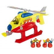 Matchbox Big Boots Fire and Rescue EMT Chopper Vehicle