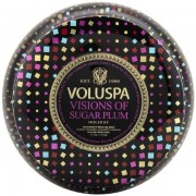 Voluspa 2 Wick Maison Metallo Candle Visions of Sugar Plum