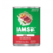Iams ProActive Health Adult With Lamb & Rice Pate Canned Dog Food, 13-oz, case of 12