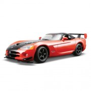 Bburago 1:24 Dodge Viper SRT 10 ACR, Red/Black