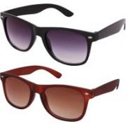 Mamta Creation Wayfarer Sunglasses(Black, Brown)