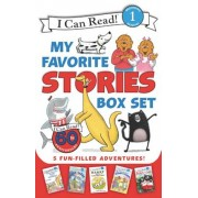 I Can Read My Favorite Stories Box Set: Happy Birthday, Danny and the Dinosaur!; Clark the Shark: Tooth Trouble; Harry and the Lady Next Door; The Ber, Paperback