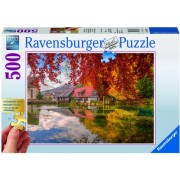 Puzzle moara, 500 piese Ravensburger