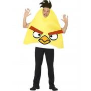 Sárga Angry Birds jelmez férfiaknak M-es méret