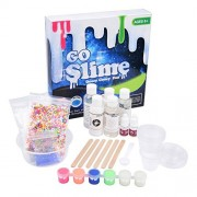 DIY Slime Kit by Special Supplies (4-in-1) Kid's Homemade Creation Set | Glitter, Foam, Glow-in-the-Dark, Scented | Girls and Boys | Safe, Non-Toxic Fun Toys