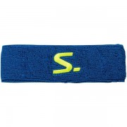 Salming Knitted Headband - Female - Blauw - Grootte: One Size