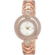 True Colors Letest fresh Arrival Rose Gold Color attractive Designer looks Watch - For Women