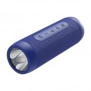 ZEALOT S22 Bluetooth Speaker FM Radio Portable Boombox Wireless Speaker with Flashlight and Power Bank - Blue