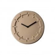 Zuiver Béžové nástěnné hodiny Zuiver Pulp Round