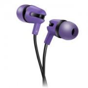 Слушалки Canyon CNS-CEP4P, микрофон, 1.2m плосък кабел, лилави, CNS-CEP4P