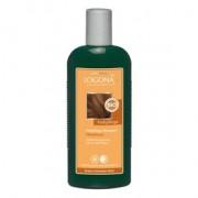 Logona színmegőrző sampon mogyoró barna fekete hajra - 250ml