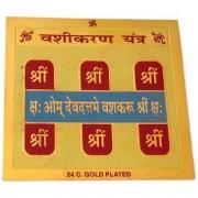Haridwar Astro Vashikaran Yantra 3x3 inch