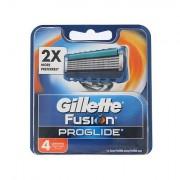 Gillette Fusion Proglide náhradní břit 4 ks pro muže