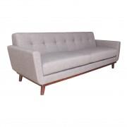 Replica Spiers 3-seater Sofa - Premium Grade Fabric - Grey