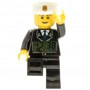 LEGO CiTY Väckarklocka polis plast 9002274