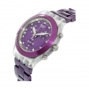 Reloj Swatch Full Blooded Blueberry Svck4048ag