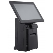 "Posiflex 14"" Small footprint AIO system with 3"" detachable thermal printer, Core I3 CPU, No HDD, No RAM, No OS"